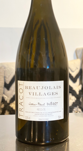 Domaine Jean-Paul Dubost 2017 'Tracot' Beaujolais-Villages Blanc AOC