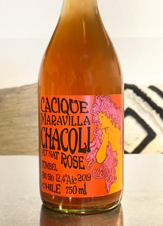 Cacique Maravilla 2019 'Chacoli' Rose Pet Nat, Bio-Bio Valley
