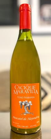 Cacique Maravilla 2019 Vino Naranja (Orange Wine), Bio-Bio Valley