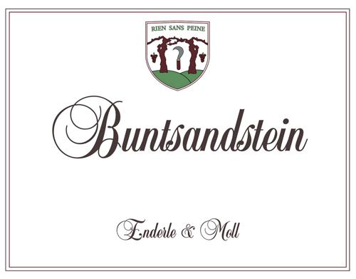 Enderle & Moll 2017 'Buntsandstein' Pinot Noir