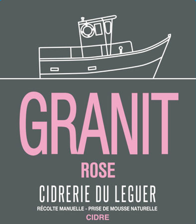 Cidrerie du Leguer 2018 'Granit' Rose Cidre, Brittany
