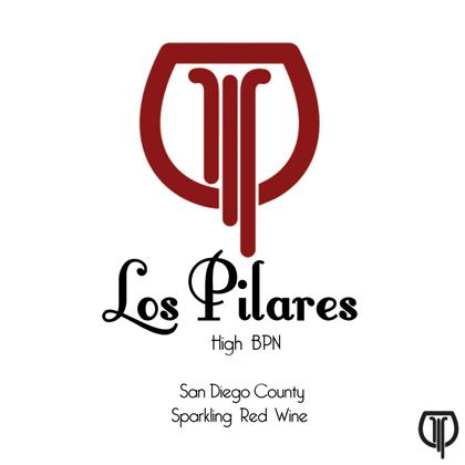 Los Pilares 2019 'High BPN' Red Petillant Naturel, San Diego County