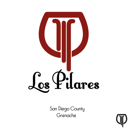 Los Pilares 2017 Grenache, Highland Hills Vineyard, San Diego County