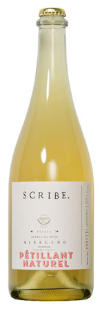 Scribe Winery 2019 Riesling Petillant Naturel, Sonoma Valley