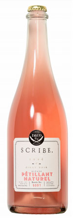 Scribe Winery 2019 Rose of Pinot Noir Petillant Naturel, Sonoma Valley