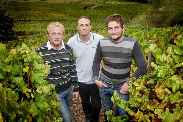 Benjamin, Jonathan and Aurélien Thevenet