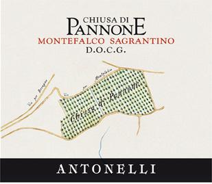 Antonelli 2004 'Chiusa di Pannone' Sagrantino DOCG