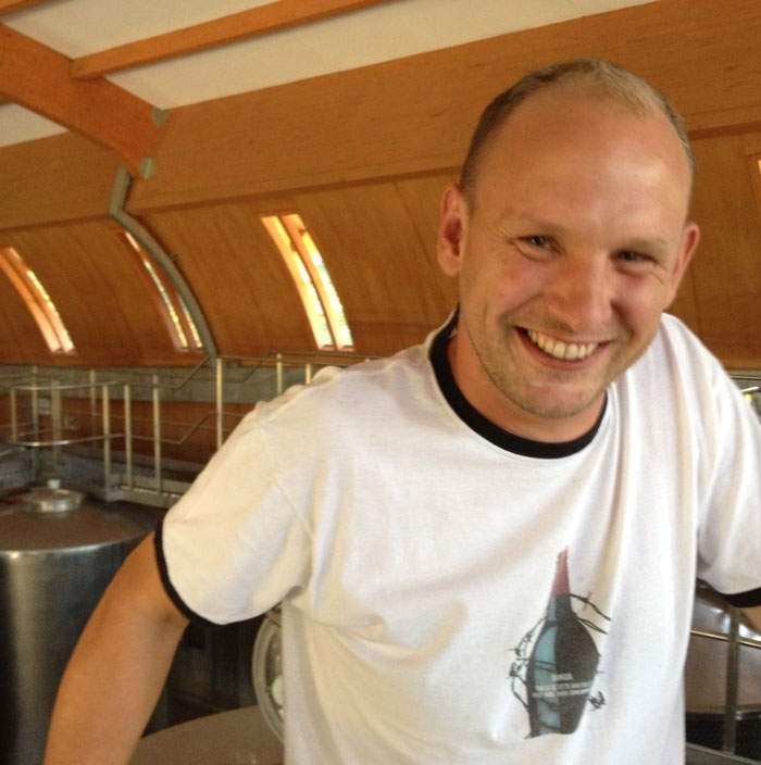 Winemaker Cedric Nicolle