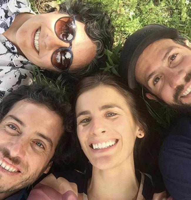 Sebastián Zuccardi, Marcela Manini, Nuria Año Gargiulo and Pancho Burgallo