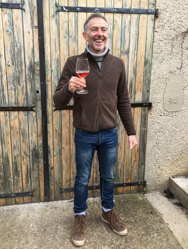 Winemaker Olivier Jullien