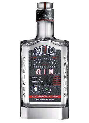 Skeptic Distillery Cold Vacuum Distilled Gin (90 proof)