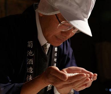 President & Master Brewer Tou Kikuchi