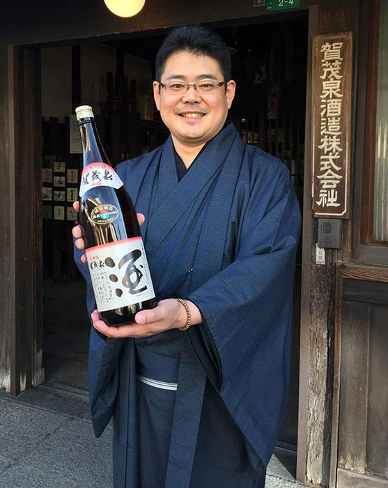 Fourth Generation Brewer Kazuhiro Maegaki