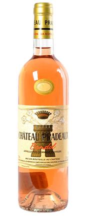 Chateau Pradeaux 2020 Bandol Rose AOC