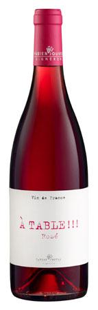 Fabien Jouves 2019 'A Table!!!' Rose, Vin de France (Cahors)