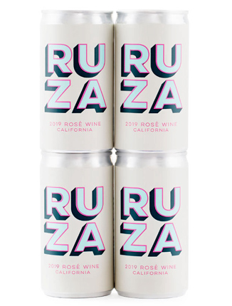 Ruza (187 ml) 2019 Rose, California (4pk can)