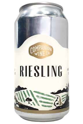 Companion Wine Co. (375 ml) 2019 Dry Riesling Sans Soufre, Santa Lucia Highlands (can)