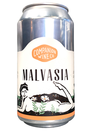 Companion Wine Co. (375 ml) 2018 Malvasia, North Coast (can)