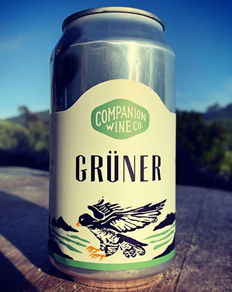 Companion Wine Co. (375 ml) 2018 Gruner Veltliner, Santa Barbara (can)