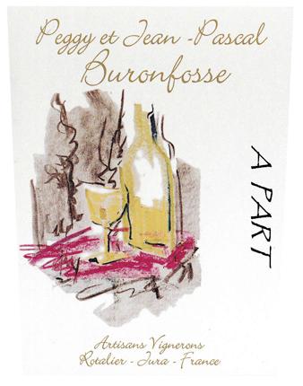 Peggy et Jean-Pascal Buronfosse (1.5 L) NV 'A Part' (Savagnin/Chardonnay), Vin de France (Jura)