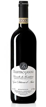 Mastrojanni 2015 Brunello di Montalcino, Vigna Schiena d'Asino, DOCG