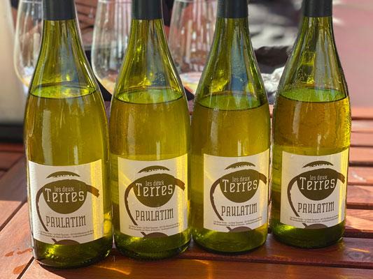 Les Deux Terres 2016 'Paulatim' Blanc, Vin de France (Ardeche)