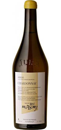 Vignerons Les Matheny 2016 Chardonnay, Arbois AOC