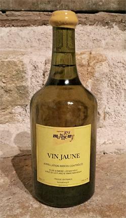 Vignerons Les Matheny (620 ml) 2011 Vin Jaune, Cotes du Jura AOC