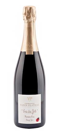 Champagne Vadin-Plateau 2014 Bois des Jots Zero Dosage, Champagne 1er Cru AOC