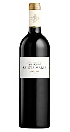 Chateau Sainte-Marie 2018 'Les Hauts de Sainte-Marie' Bordeaux Rouge AOP