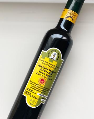 Frantoio Olerario (500ml) Extra Virgin Olive Oil, Liguria
