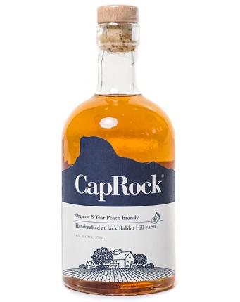 CapRock (375 ml) Organic 8-Year Peach Brandy (80 proof)
