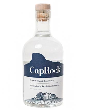 CapRock (375 ml) Organic Pear Brandy (80 proof)