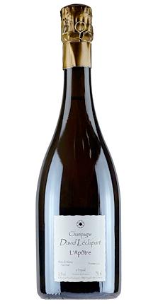 Champagne David Leclapart NV 'L'Apotre' Blanc des Blancs Extra Brut, Champagne 1er Cru AOC