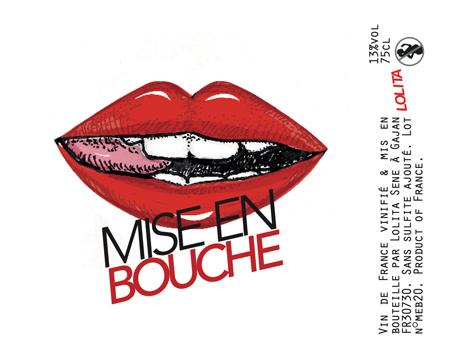 Lolita 2020 'Mis en Bouche' Rouge, Vin de France