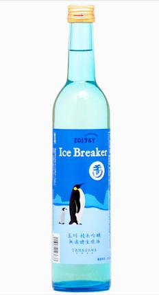 Tamagawa (500 ml) 'Ice Breaker' Fresh Pressed Junmai Ginjo Nama Genshu, Kyoto Prefecture