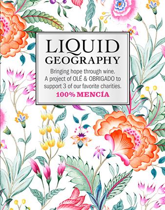 Liquid Geography Label