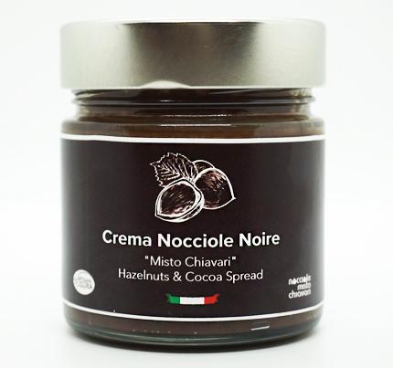 Barbieri (200g) Crema Nocciole Noire (Hazelnuts & Cocoa Spread)