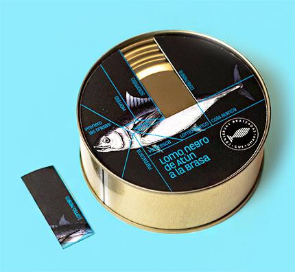 Conservas Gueyu Mar (150g) 'Lomo Negro' Grilled (Dark) Red Tuna Loins
