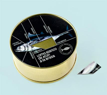 Conservas Gueyu Mar (150g) 'Lomo Blanco' Grilled (Light) Red Tuna Loins