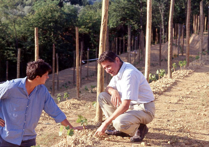 Luca and Paolo De Marchi: the revival of the historic Covà Vineyard