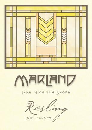 Wyncroft 2019 'Marland' Riesling (Off-dry), Lake Michigan Shore