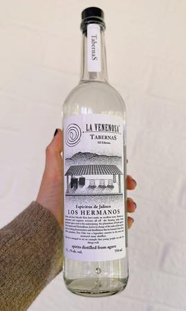 La Venenosa Raicilla 'Tabernas' Maximiliana (White Label), Espiritus de Jalisco (90.2 proof)