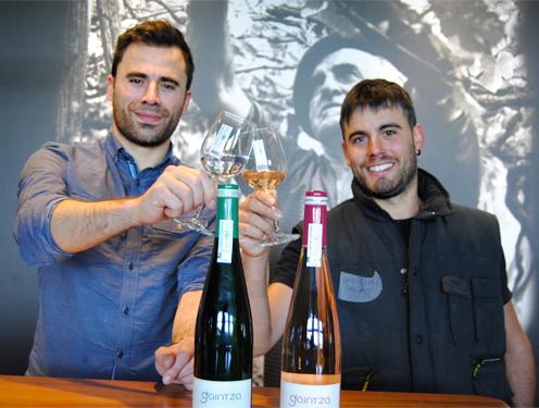 4th generation brothers Joseba and Urtzi Lazkano now run the winery.