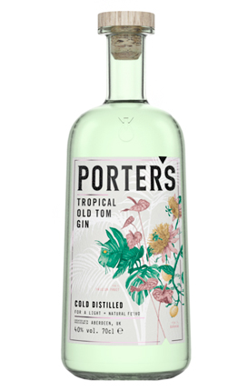 Porter's Tropical Old Tom Gin (80 proof)