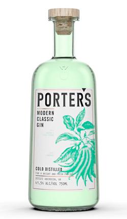 Porter's Modern Classic Gin (83 proof)