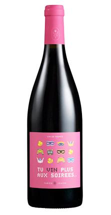 Fabien Jouves 2020 'Tu Vin Plus Aux Soirees' Rouge, Vin de France (Cahors)