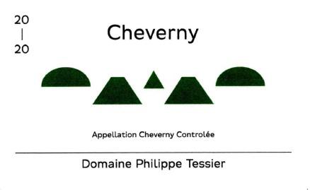 Domaine Philippe Tessier 2020 Cheverny Blanc AOC