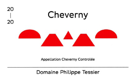 Domaine Philippe Tessier 2020 Cheverny Rouge AOC
