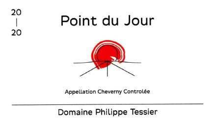 Domaine Philippe Tessier 2020 'Le Point du Jour' Cheverny Rouge AOC